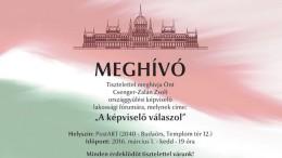 Csenger - Zalán Zsolt országgyűlési képviselő lakossági fóruma Budaörsön