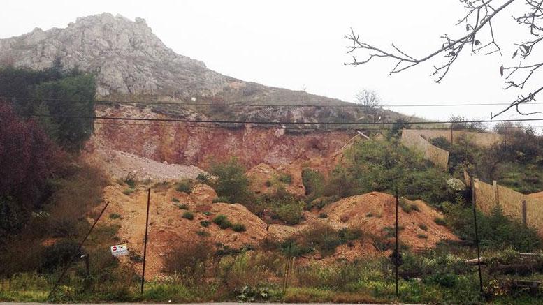 Kőhegy rombolás