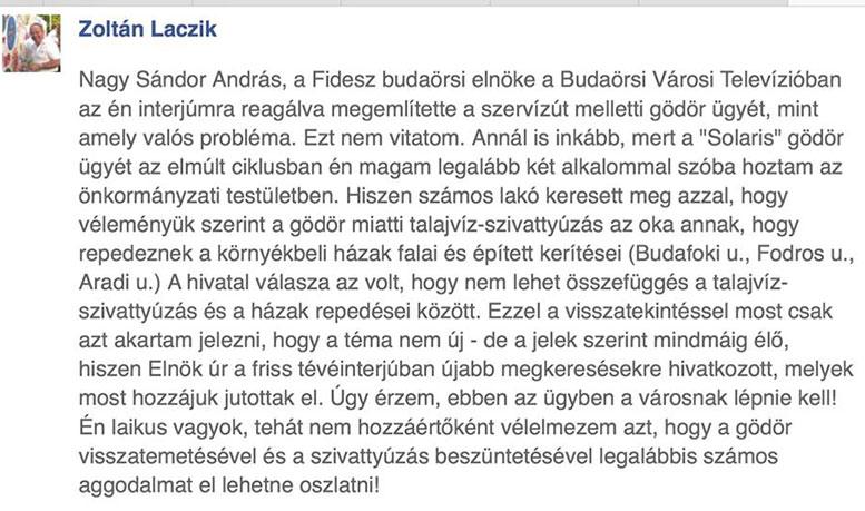 Laczik Zoltán facebook
