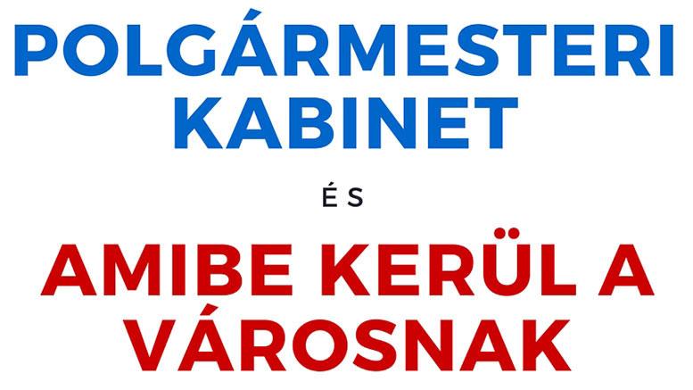 Polgármesteri Kabinet 2016 költségvetés