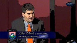Löfler Dávid TV vita