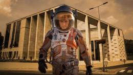 Matt Damon a városházán