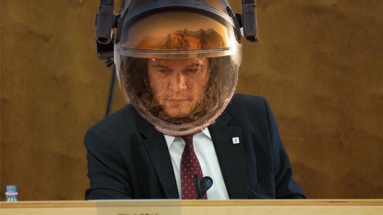 Matt Damon ülést vezet