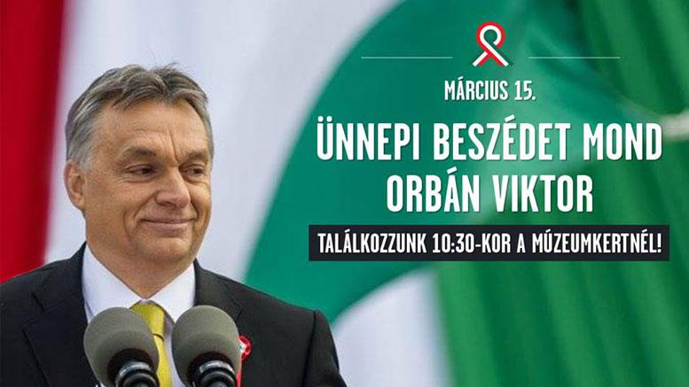 Orbán Viktor március 15.