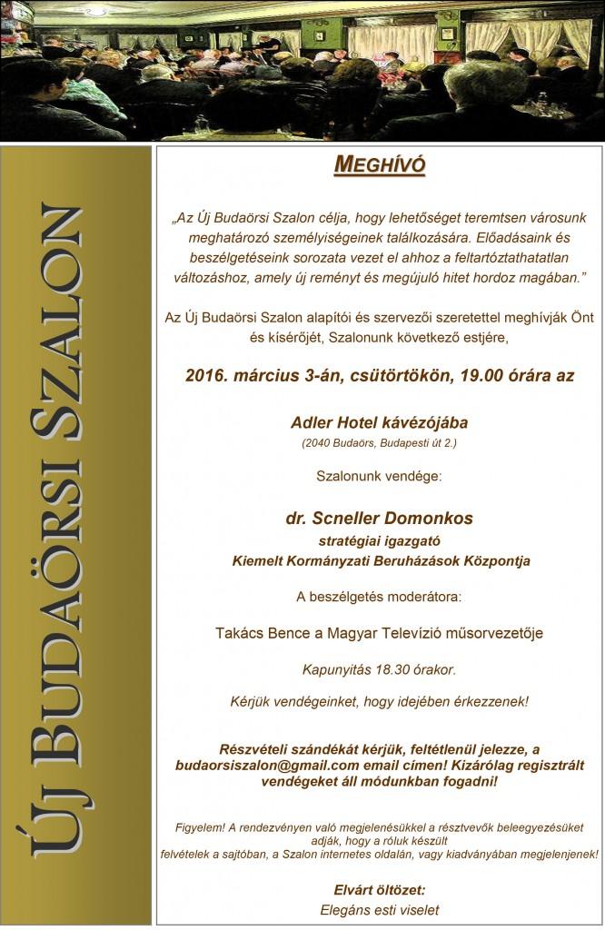 Új Budaörsi Szalon meghívó