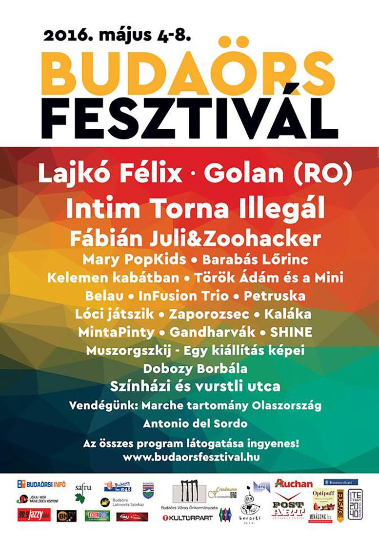 19. Budaörs Fesztivál plakát