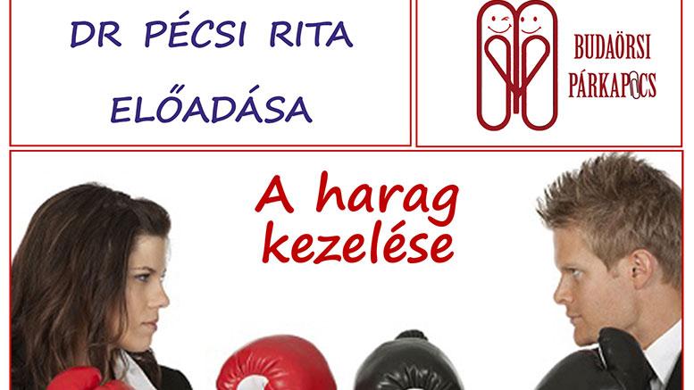 A harag kezelése - dr Pécsi Rita előadása
