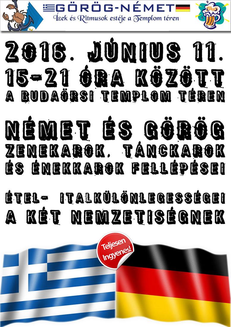 Görög-Német ízek és ritmusok