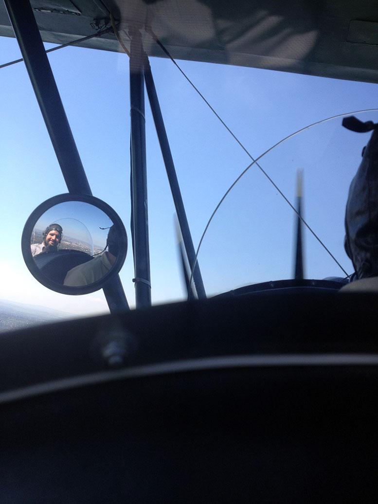 Löfler Dávid a levegőben, PO-2