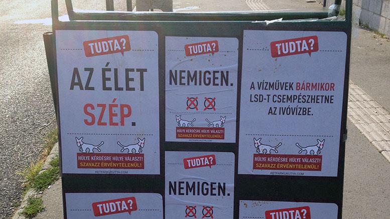 Budaörs Város hirdetőtábláin MKKP plakátok?!