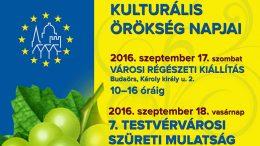 Kulturális örökség napjai Budaörsön