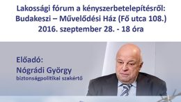 Nógrádi György – Ne kockáztassuk Magyarország jövőjét!