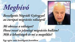 Nógrádi György előadására Budaörsön