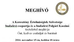 KÉSZ: dr. Raffay Ernő előadása november 15-én