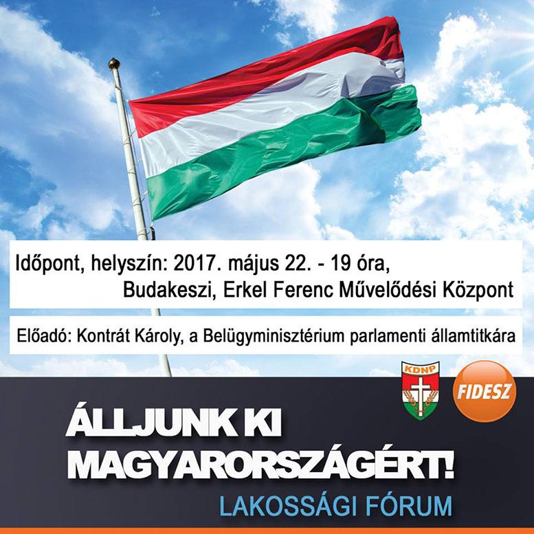 Álljunk ki Magyarországért