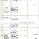 A fejlesztési akció keretén belül tervezett projektek (AT7)