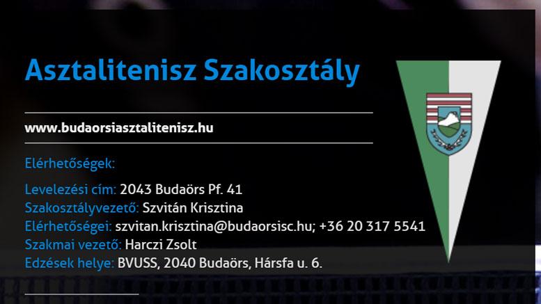 Két BSC sportoló az Asztalitenisz Felnőtt Csapat Európa-bajnokságon
