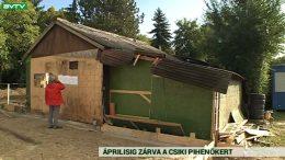 Felújítás miatt április elejéig zárva a Csiki Pihenőkert