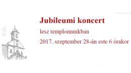 Jubileumi koncert lesz a budaörsi katolikus templomban
