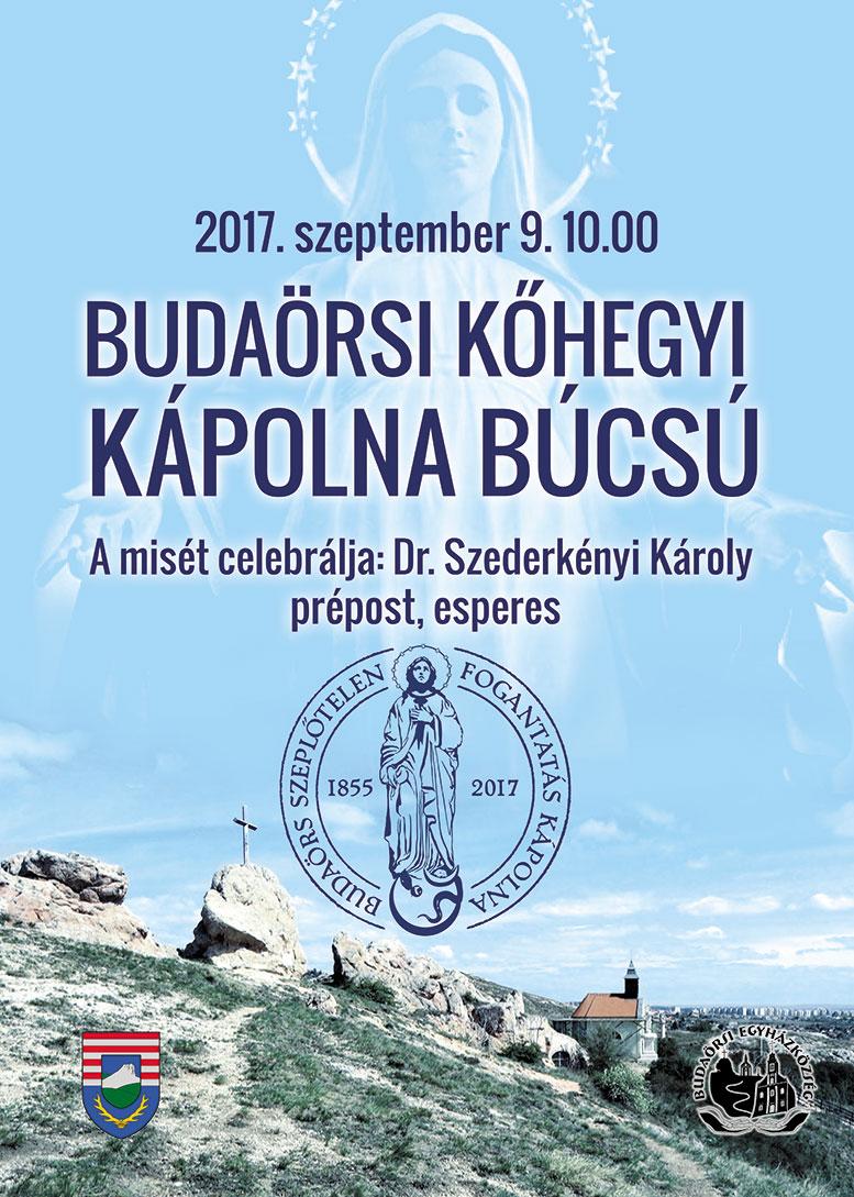Budaörsi Kőhegyi Kápolna búcsú