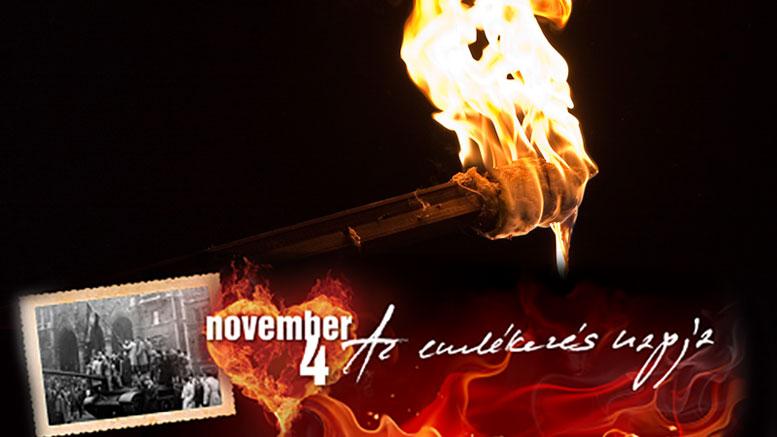 Fáklyás menet november 4-én Budaörsön! Emlékezzünk együtt az 1956. -os forradalom és szabadságharc áldozataira.