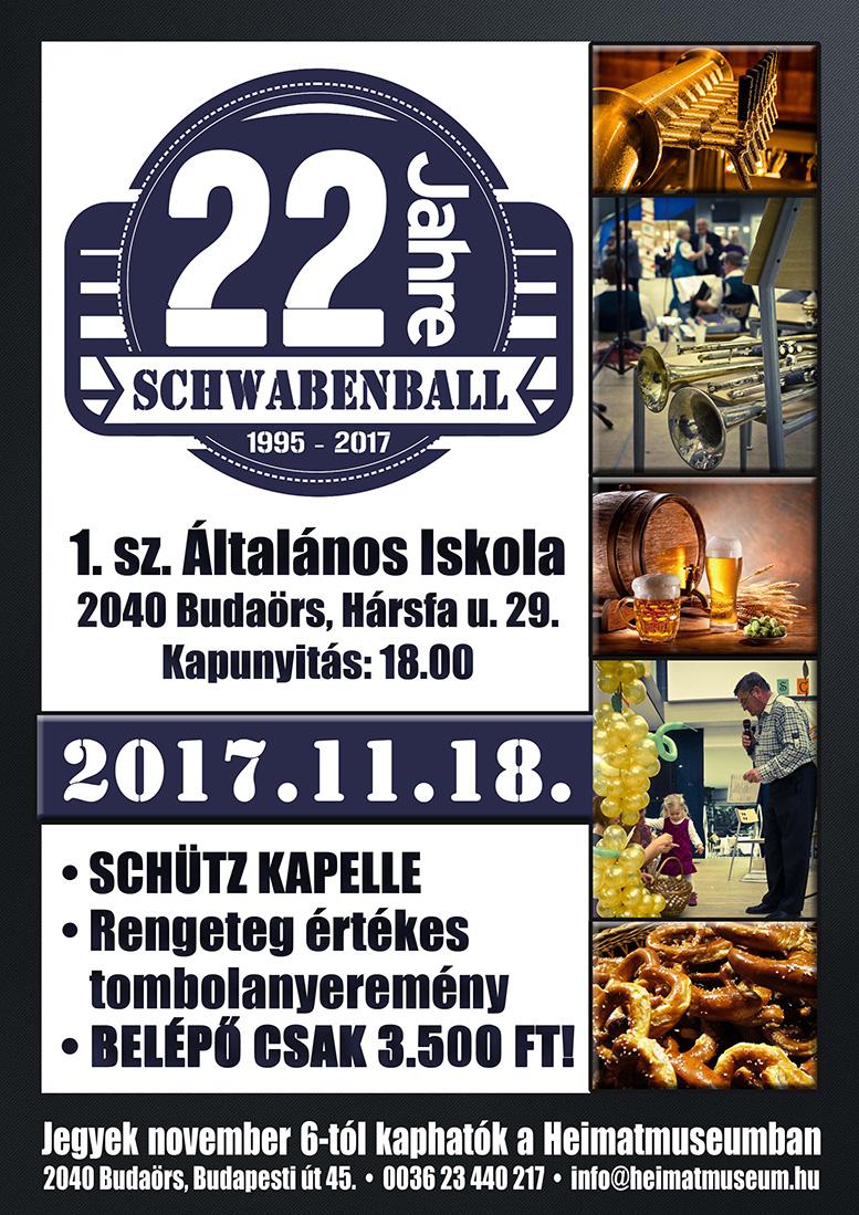 A budaörsi Sváb bál idén 22. alkalommal kerül megrendezésre!