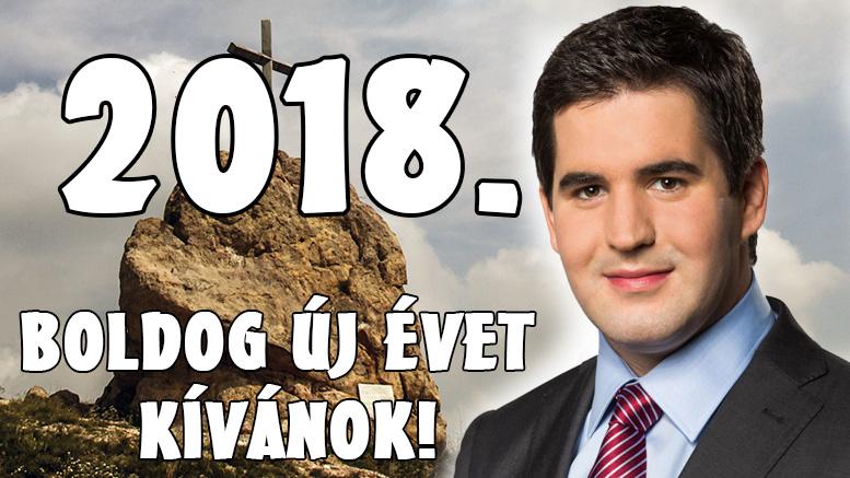 Sikerekben gazdag, boldog új évet kívánok! 2018.