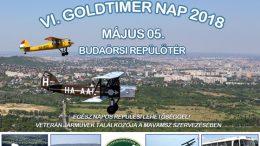 VI. Goldtimer Nap a Budaörsi Repülőtéren