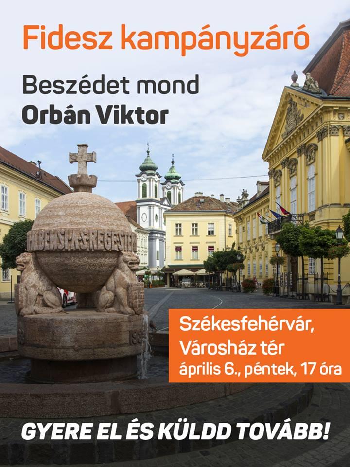 Országos kampányzáró Székesfehérváron.