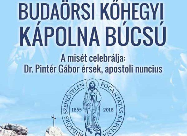 Budaörsi Kőhegyi Kápolna Búcsú 2018