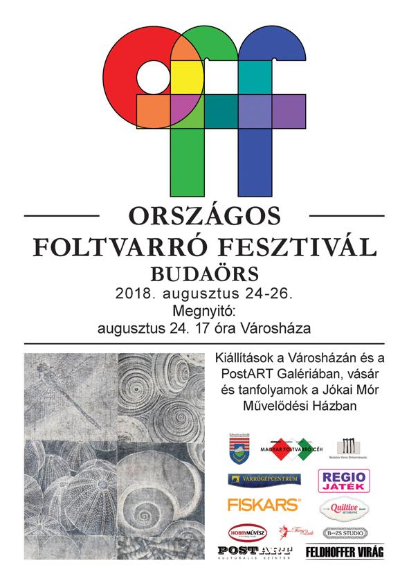 Országos Foltvarró Fesztivál Budaörsön