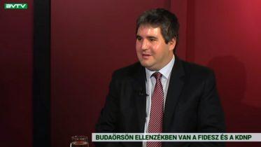 Löfler Dávid volt a Budaörs TV vendége