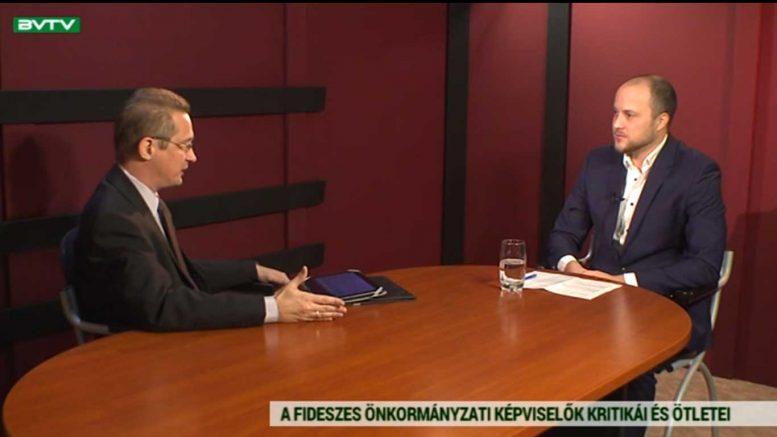 Sokolowski Márk volt a Budaörs TV vendége