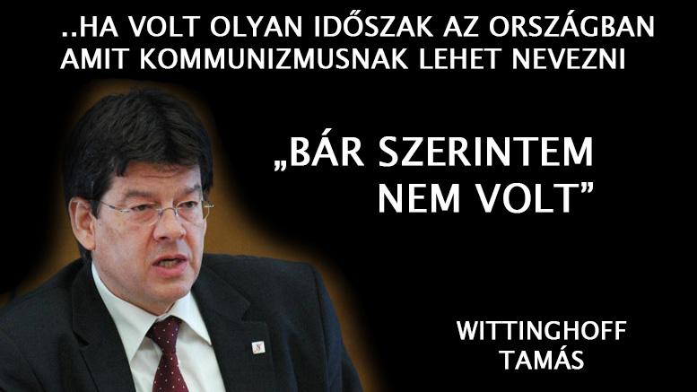 Megtagadta a tiszteletadást Wittinghoff Tamás a kommunizmus áldozatainak emléknapján