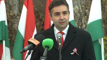 A Fidesz-KDNP március 15-ei ünnepi megemlékezése Budaörsön