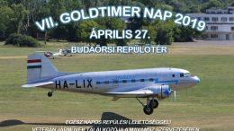 VII. Goldtimer Nap a Budaörsi Repülőtéren