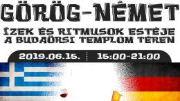 Görög-Német Ízek és Ritmusok est