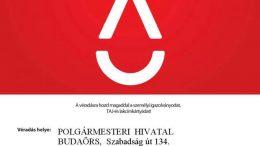 Véradás lesz a Városházán Budaörsön