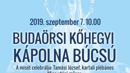 Budaörsi Kőhegyi Kápolna Búcsú 2019.