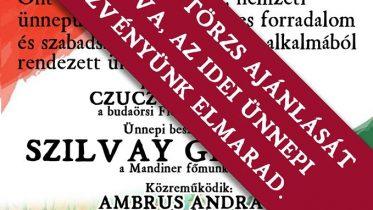Lemondja a Fidesz-KDNP a budaörsi március 15-i rendezvényét