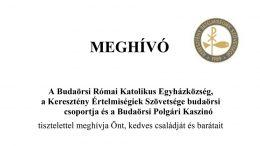 KÉSZ budaörsi szervezete és a Budaörsi Polgári kaszinó közös szervezésében